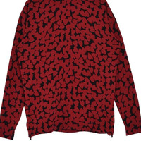 Red Hearts Pullover