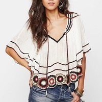 Free People 'The Way She Moves' Crocheted Cotton Top