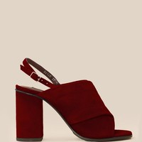OPENING CEREMONY CURTAIN HIGH-HEELED SANDALS - WOMEN - FOOTWEAR - HEELS - OPENING CEREMONY
