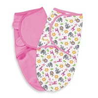 Summer Infant® Size Small/Medium Cotton 2-Pack SwaddleMe® in Sunny Safari