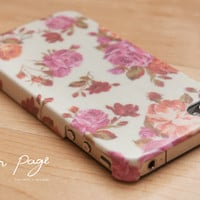 Apple iphone case for iphone iphone 3Gs iphone 4 iphone 4s iPhone 5: Vintage Roses