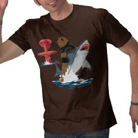 The Great Escape - bear shark cavalry T Shirts from Zazzle.com