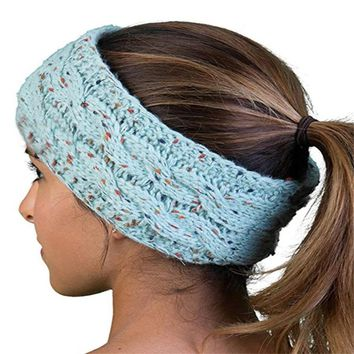 Knit Headwrap Women Beanie Hat