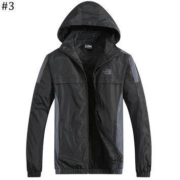 The North Face 2018 new trend hooded waterproof and windproof jacket #3
