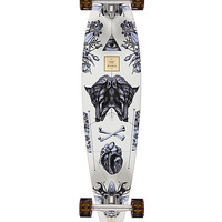 """Arbor Fish Bamboo Collection 37"""" Pintail Longboard Complete"""