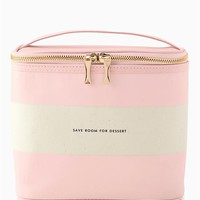 kate spade new york Lunch Tote- Blush Rugby Stripe