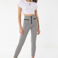 UO Susie High-Rise Plaid Pant   Urban Outfitters