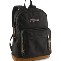 JanSport Classic Right Pack School BACKPACK Solid Color Black