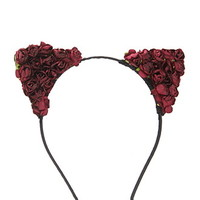 Rose Cat-Ear Headband