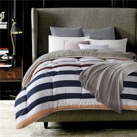Quilted Striped Comforter
