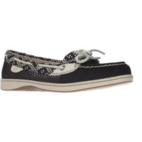 Sperry Top-Sider Angelfish Boat Shoes - Black/White
