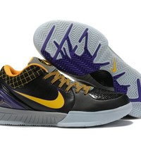 Nike Zoom Kobe 4 IV - Black/Yellow