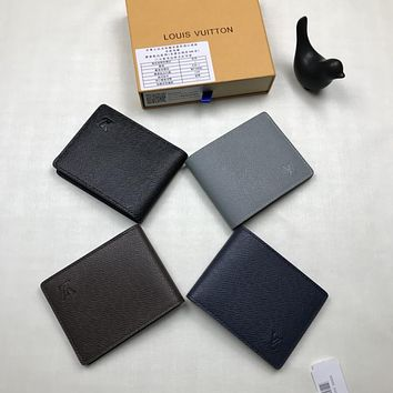 LV Louis Vuitton LEATHER WALLET