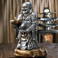 Standing Buddha Tealight Candle Holder
