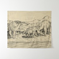 Classic Dinosaurs Tapestry