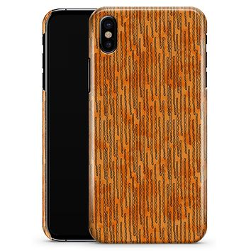 The Watercolor Grunge Surface Under a Microscope - iPhone X Clipit Case