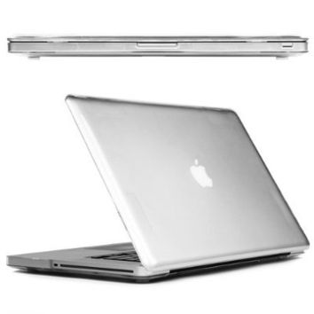 CaseCrown Clip On Case for Apple MacBook Pro 15-Inch, 2011 Model (Clear)