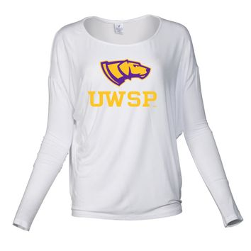 NCAA Wisconsin Stout DevilsPPWSP011 Women's Loose Pico Top