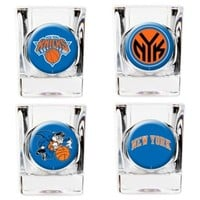 NBA New York Knicks Shot Glasses (Set of 4)