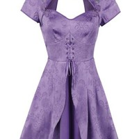 "Alice In Wonderland Short dress, Women ""Through The Looking Glass - Alice Chinese Dress"" lilac"