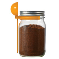 Mason Jar Coffee Spoon Clip