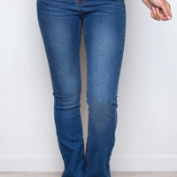 Along The Way Flare Jeans - Medium