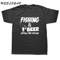 Beer Fish  T shirt