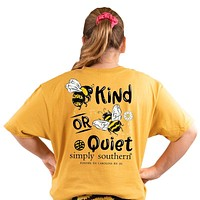 Bee Kind or Bee Quiet - SS -  S20 - YOUTH T-Shirt