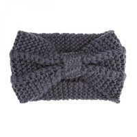 Lulu Grey Headwrap