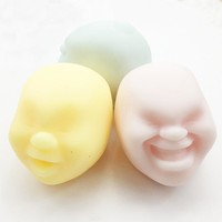 3pcs/set Antistress Face Ball Funny Vent Balls Stress Reliever Anti Stress Toys Ball Relief Relax Vent Balls Creative Toy