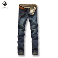 Free Shipping 2017 Men's Fashion Jeans Pants Plus Size Autumn Men Jeans Pants Clothes Best Quality Denim Pants Men