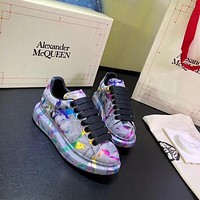 Alexander McQUEEN   Woman's Men's 2020 New Fashion Casual Shoes Sneaker Sport Running Shoes