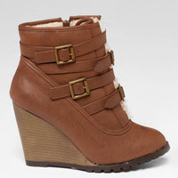 SOOKIE WEDGE BOOTIE