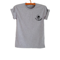 Avocado Cute T Shirt Tops for Teen Women Men Cool Teenager Shirt Gifts Tumblr Hipster Fashion Funny Trending Summer Outfit Swag Dope Tees