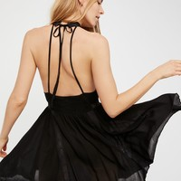 Free People Falling For You Fit and Flare Slip