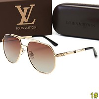 Louis Vuitton LV Woman Men Fashion Summer Sun Shades Eyeglasses Glasses Sunglasses 1#