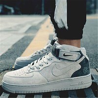 Nike Air Force 1 AF1 Retro Simple High Top Casual Sneakers Shoes