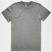 Volcom Washed Mens T-Shirt Black  In Sizes