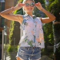 Mystery Spring/Summer Outfit: High Waisted Shorts & Top/Blouse - All Sizes
