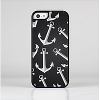 The Black Anchor Collage Skin-Sert Case for the Apple iPhone 5c