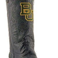 Gameday Baylor Ladies Leather Boots - Black