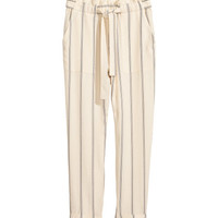 Striped Pants - from H&M