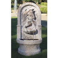 Two Horse Head Garden Fountain - Horse Themed Gifts, Clothing, Jewelry and Accessories all for Horse Lovers | Back In The Saddle