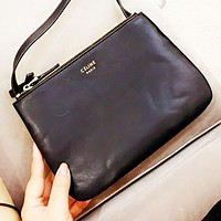CELINE Popular Women Shopping Bag Leather Shoulder Bag Crossbody Satchel