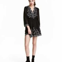 H&M Embroidered Dress $49.99