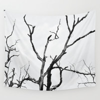 Branches Wall Tapestry by PoseManikin