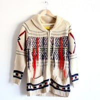 Fringe with Benefits Cardigan in Cream