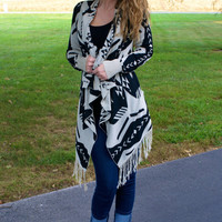 Ready For Fall Cardigan: Taupe