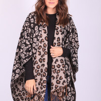 Leopard is the New Black Throw