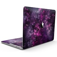 Vibrant Purple Deep Space - MacBook Pro with Touch Bar Skin Kit